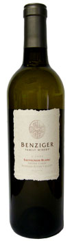 Benziger 2006 Sauvignon Blanc--Shone Farm, Russian River Valley Bottle of Wine